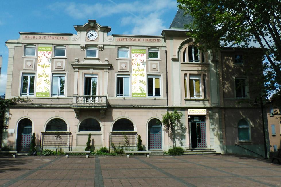 façade conservatoire