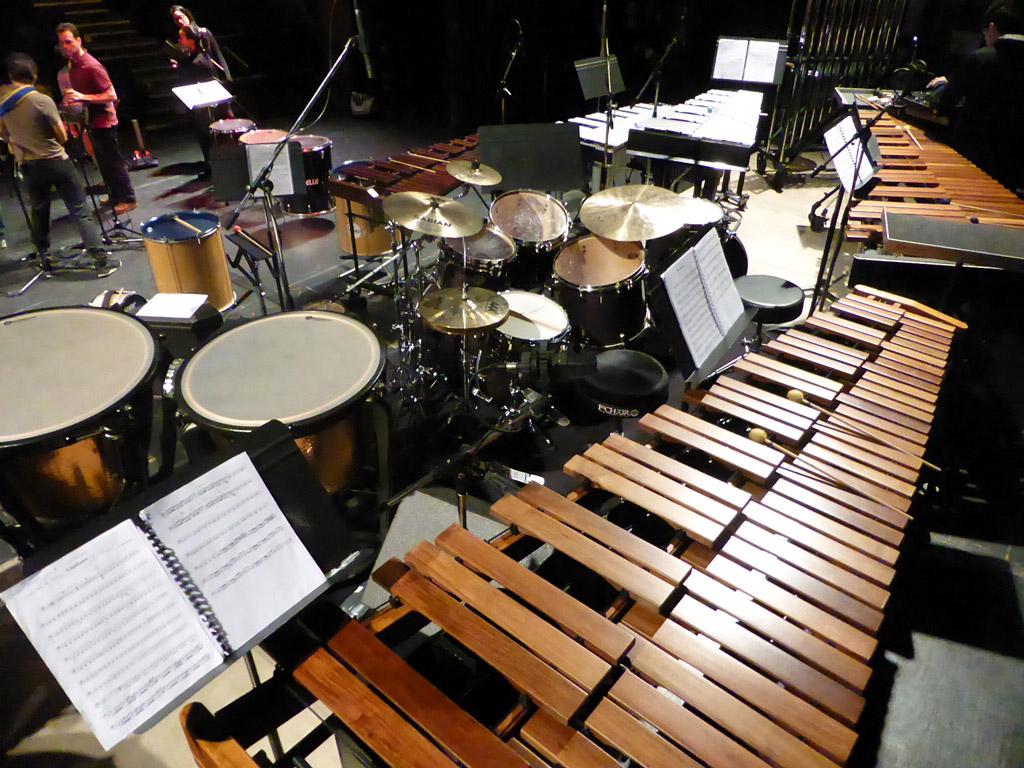 instruments de percussion